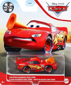 CARS 3 (Auta 3) - Lightning McQueen with Cone (Blesk McQueen)
