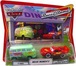 CARS (Auta) - Fillmore + Whitewalls Lightning McQueen - mírně poškozený obal