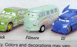 CARS (Auta) - Fillmore (Filmore) - SBĚRATELSKÁ RARITA - 1. SÉRIE