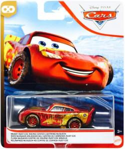 CARS 3 (Auta 3) - Muddy Rust-Eze Racing Center Lightning McQueen (zablácený metalický)