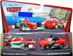 CARS (Auta) - Francesco Bernoulli + Francesco's Crew Chief - poškozený obal