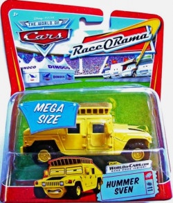 CARS Deluxe (Auta) - Hummer Sven - Race O Rama