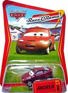 CARS (Auta) - Andrea - Race O Rama