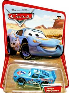 CARS (Auta) - Dinoco Lightning McQueen - SBĚRATELSKÝ - 1. SÉRIE