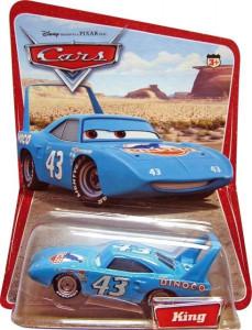 CARS (Auta) - King - SBĚRATELSKÝ - 1. SÉRIE - poškozený obal