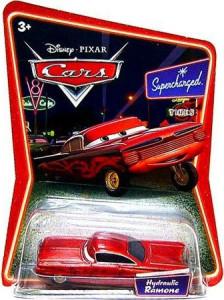 CARS (Auta) - Ramone Red Hydraulic - SUPERCHARGED - mírně poškozený obal