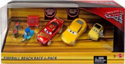 CARS 3 (Auta 3) - 4pack Fireball Beach Race