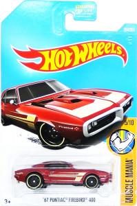HOT WHEELS - '67 Pontiac Firebird 400
