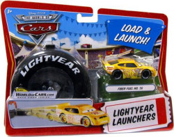 CARS (Auta) - Fiber Fuel No. 56 Lightyear Launchers - The World of Cars