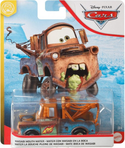 CARS 3 (Auta 3) - Wasabi Mouth Mater (Burák)