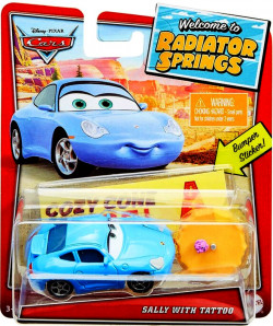 CARS (Auta) - Sally with Tattoo - Welcome to Radiator Springs
