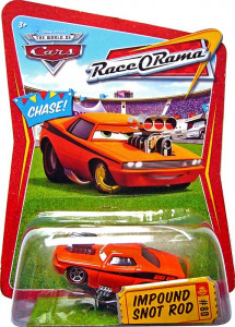 CARS (Auta) - Impound Snot Rod - Race O Rama (Smrkáč s botičkou na kole)
