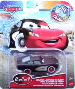 CARS (Auta) - Color Changers Cruisin Lightning McQueen (Blesk) - červená-černá