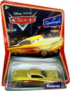 CARS (Auta) - Ramone Gold (Zlatý Ramone) SUPERCHARGED