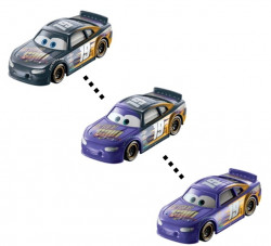 CARS (Auta) - Color Changers Bobby Swift (měnící barvu)