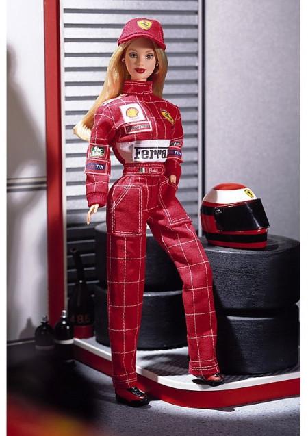 BARBIE Scuderia Ferrari, rok 2000