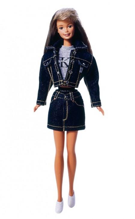 BARBIE - Calvin Klein (r. 1996) - poškozený obal