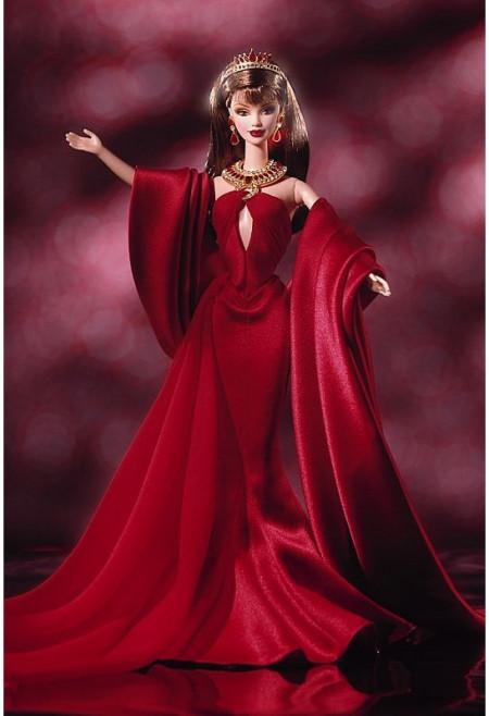BARBIE Countess of Rubies (rubínová hraběnka) s krystaly Swarovski - rok 2001