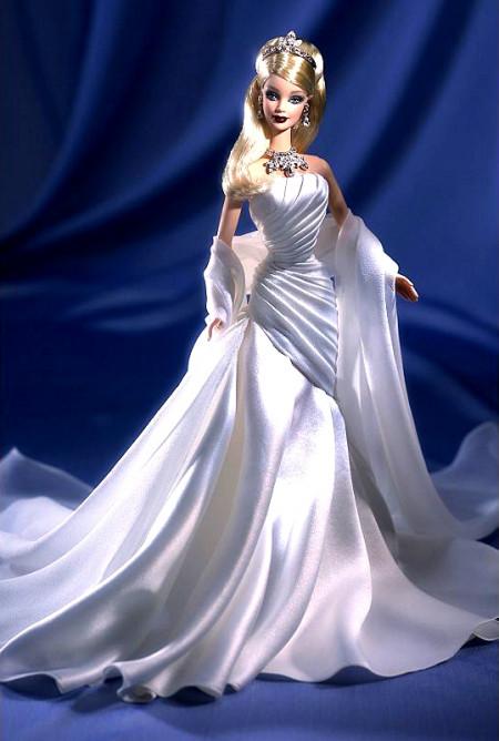 BARBIE Duchess of Diamonds (vévodkyně diamantů) s krystaly Swarovski, rok 2000
