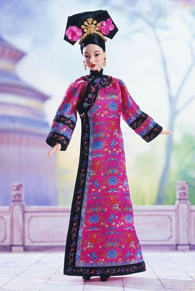 BARBIE Princess of China (čínská princezna)