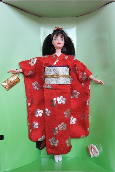 BARBIE Japanese Happy New Year
