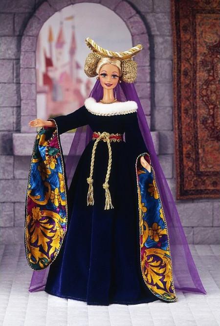 BARBIE Medieval Lady (Středověká dáma) - rok 1995