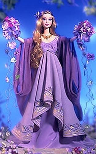BARBIE Goddess of Spring (bohyně jara) - rok 2000 - poškozený obal