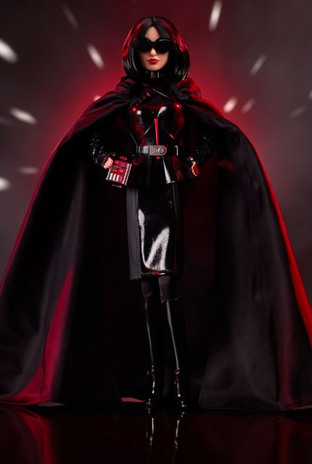 BARBIE Darth Vader Star Wars GOLD LABEL, r. 2019