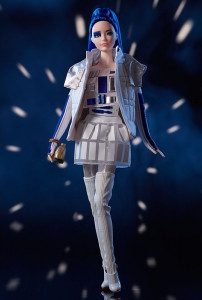 BARBIE R2D2 Star Wars GOLD LABEL, r. 2019