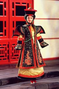 BARBIE Chinese Empress (Čínská císařovna) - rok 1997