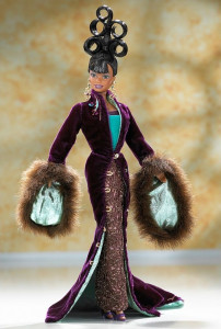 BARBIE Plum Royale by Byron Lars - rok 1999