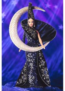 BARBIE Goddess of the Moon (měsíční bohyně) by Bob Mackie - rok 1996