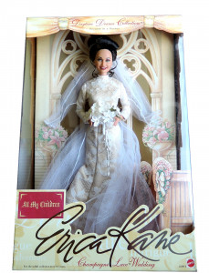 Erica Kane Wedding Doll