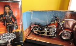 Harley Davidson pro BARBIE - poškozeno