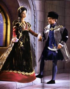 BARBIE a KEN jako Romeo a Julie