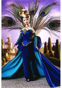 BARBIE The Peacock (Páv) - r. 1998 - mírně poškozený obal