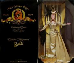 BARBIE MGM Golden Hollywood - rok 1999 - poškozený obal