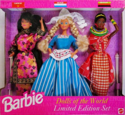 BARBIE China + Dutch + Kenyan (Čína + Nizozemsko + Keňa) - r. 1994