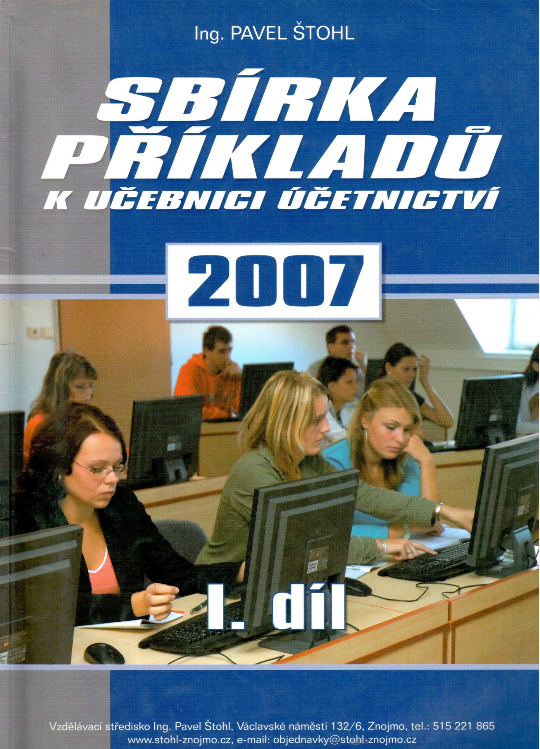 Sbírka příkladů k Učebnici účetnictví 2007 (1. díl) - Náhled učebnice