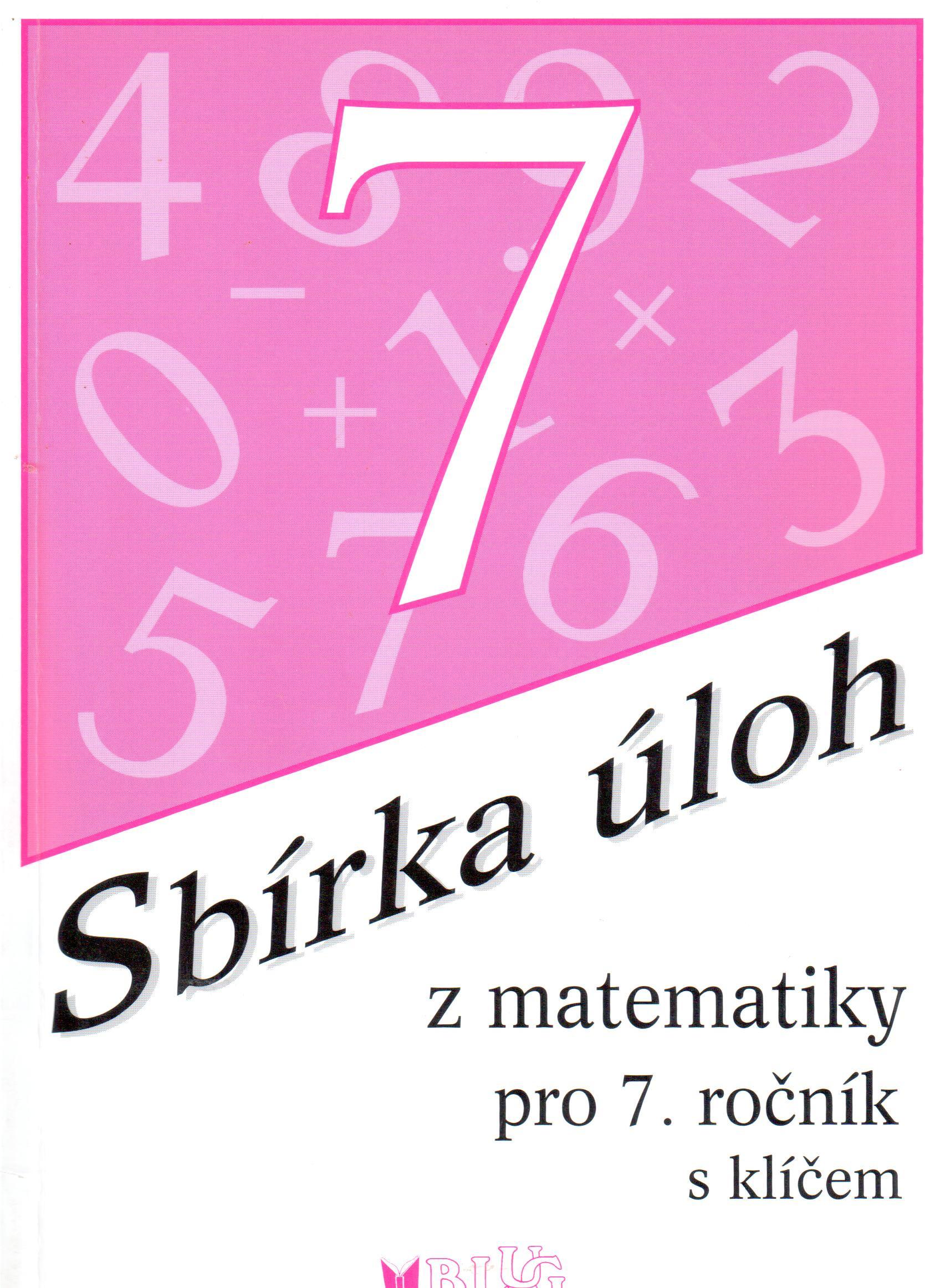 Sbírka úloh z matematiky pro 7. ročník s klíčem - Náhled učebnice