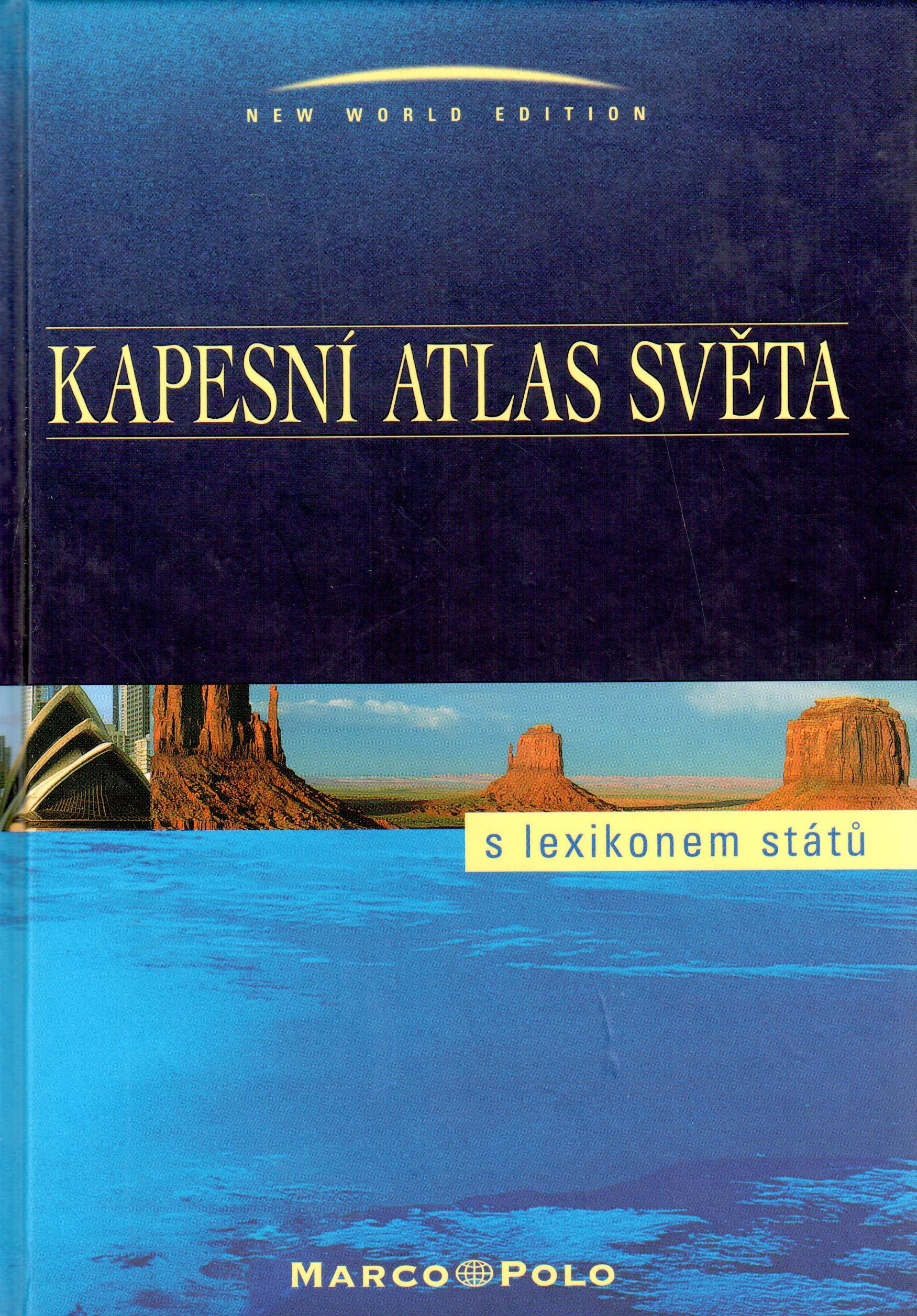 Kapesní atlas světa, s lexikonem států - Náhled učebnice