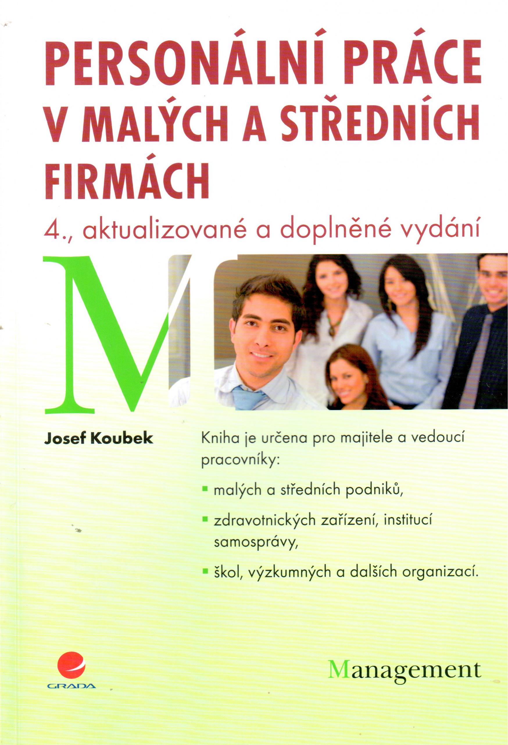 Personální práce v malých a středních firmách - Náhled učebnice