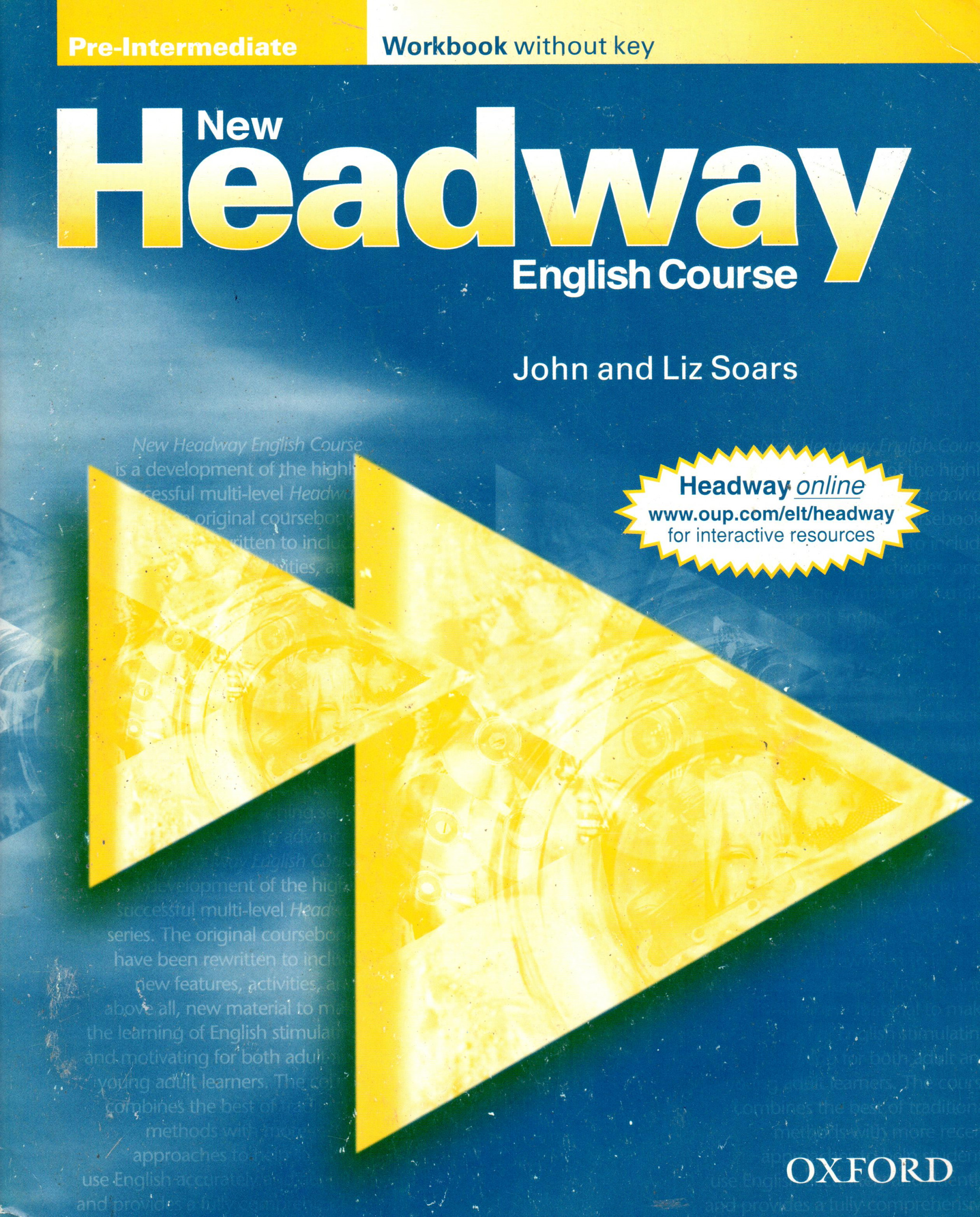 New Headway: Pre-intermediate Workbook without Key - Náhled učebnice