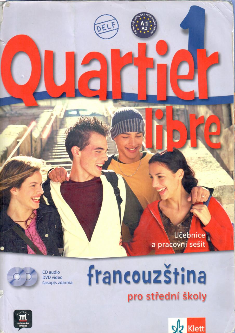 Quartier Libre 1: Učebnice a pracovní sešit