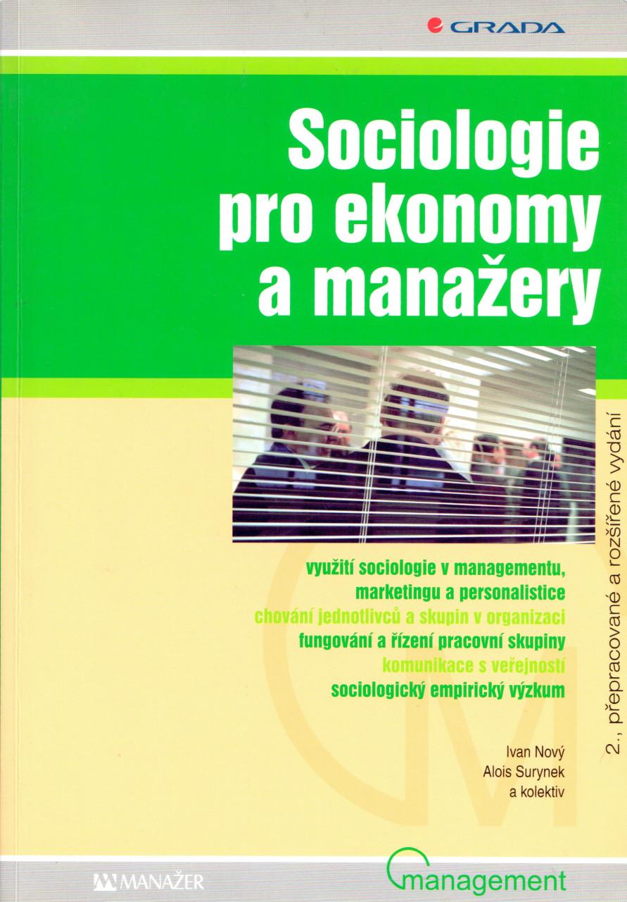 Sociologie pro ekonomy a manažery