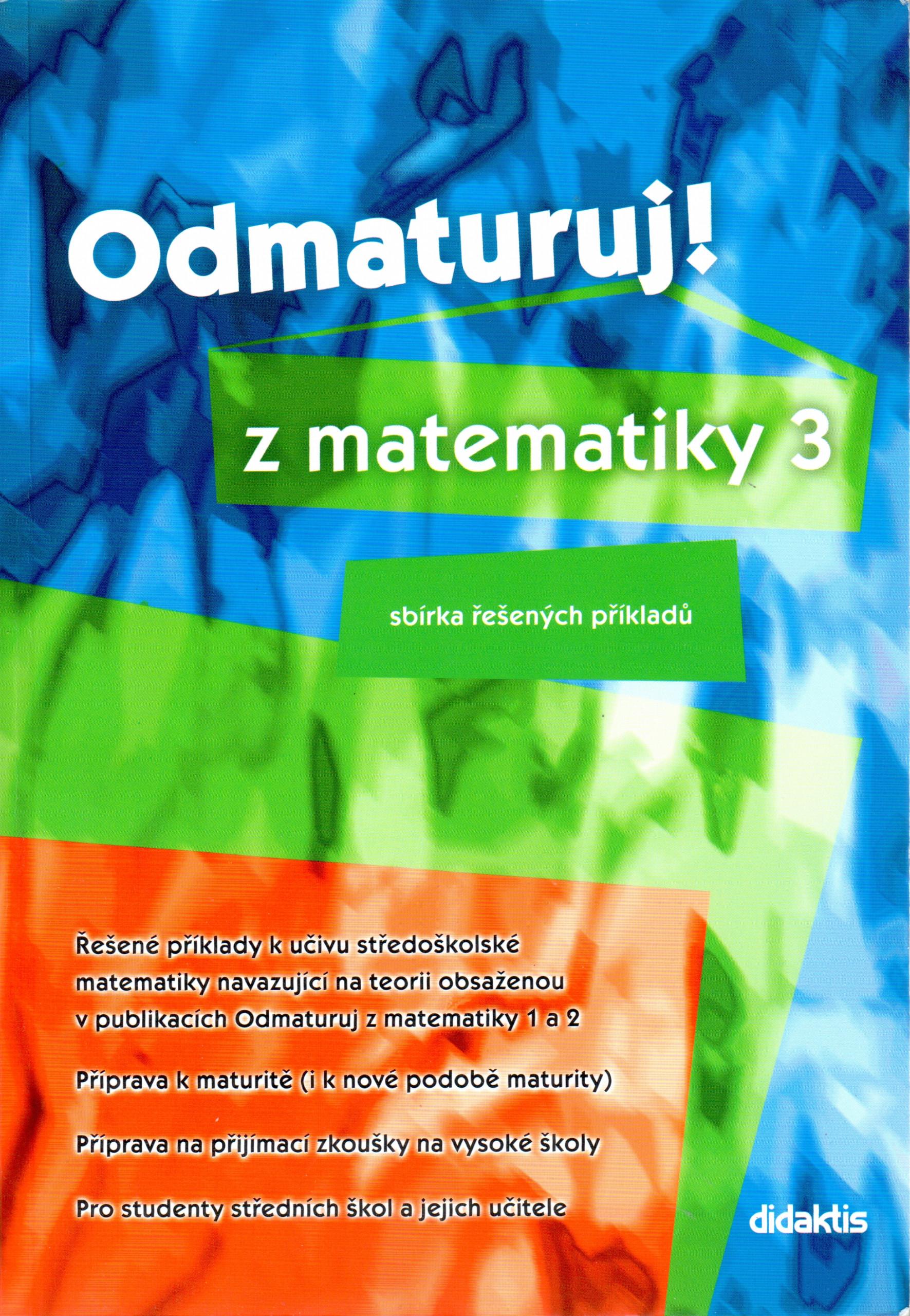 Odmaturuj! z matematiky 3 - Náhled učebnice