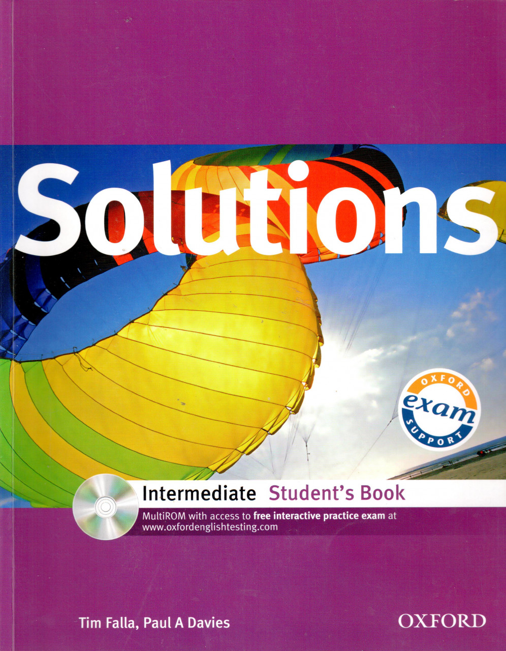 Solutions: Intermediate Student Book with MultiROM Pack