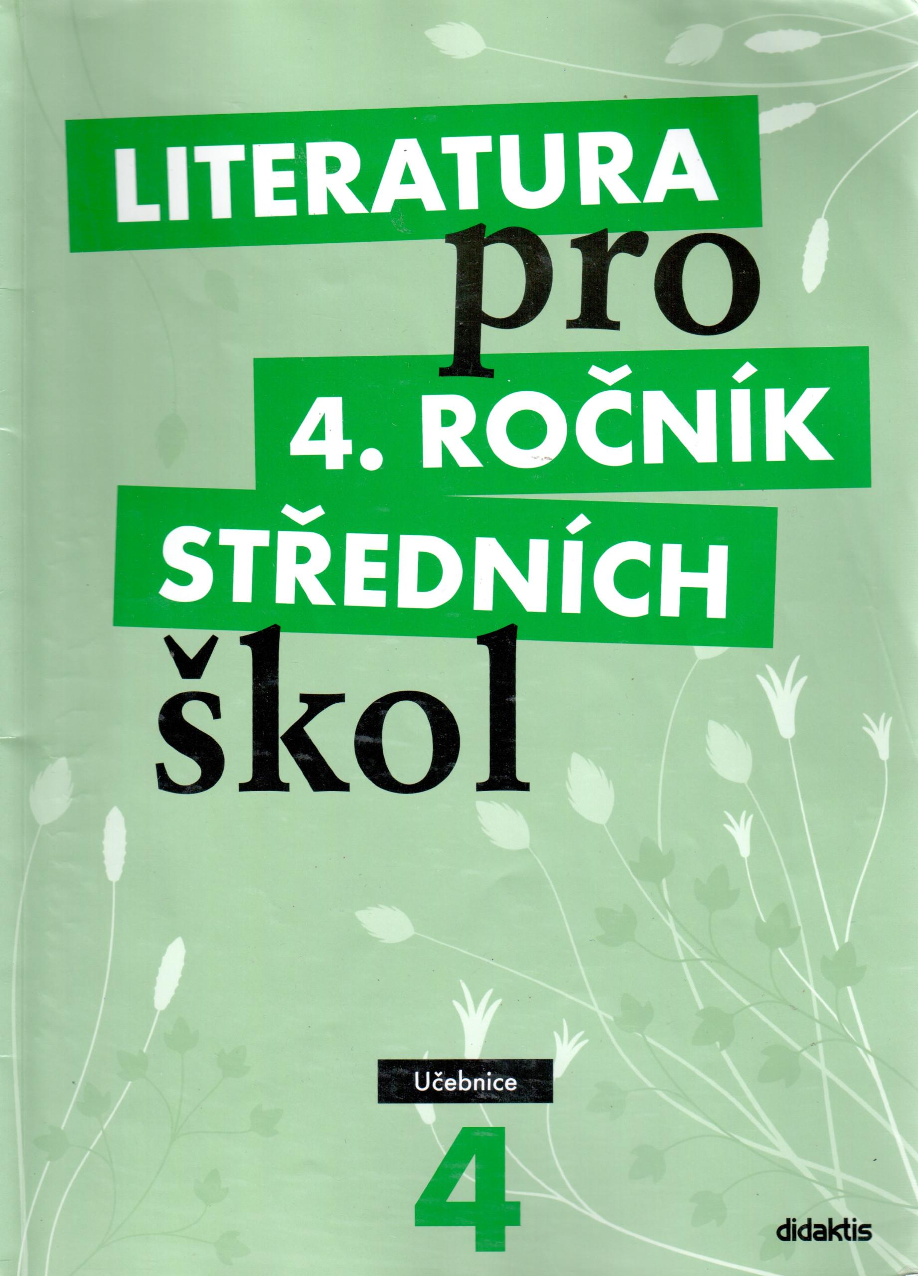 Literatura pro 4. ročník středních škol (učebnice) - Náhled učebnice