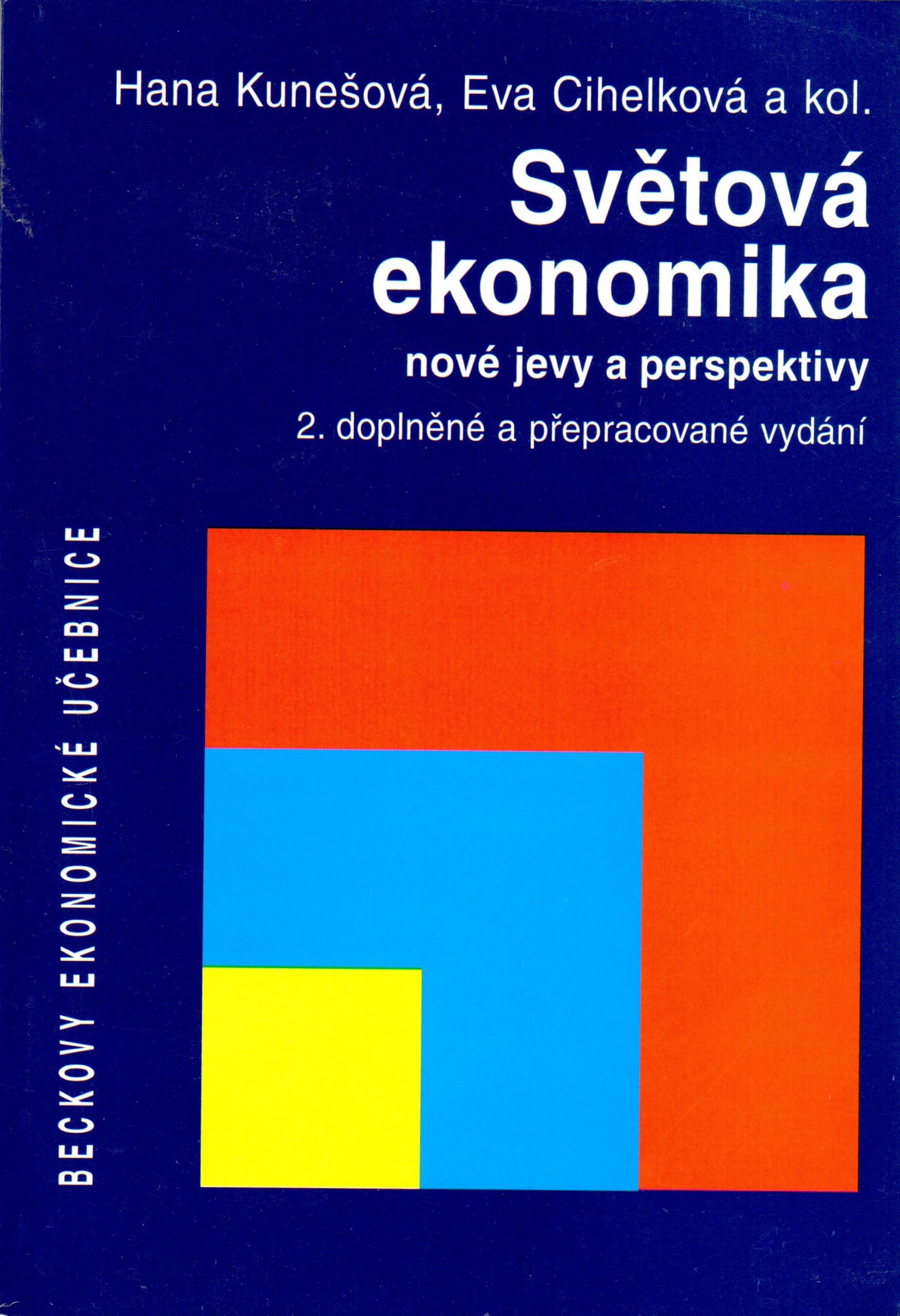 Světová ekonomika, nové jevy a perspektivy - Náhled učebnice