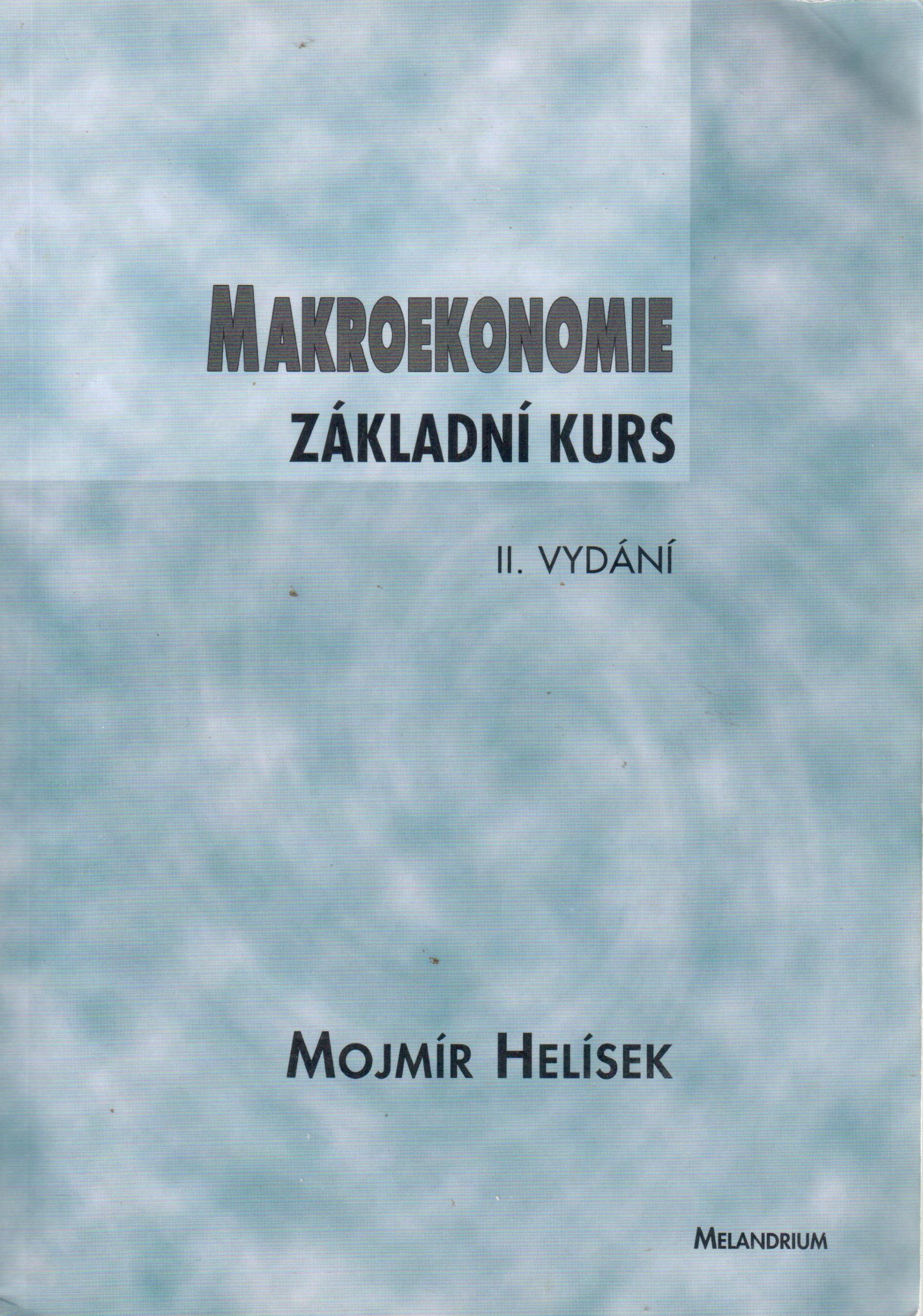 Makroekonomie: základní kurs - Náhled učebnice